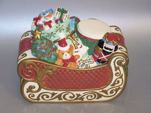 Avon Christmas Santa Cookie Jar