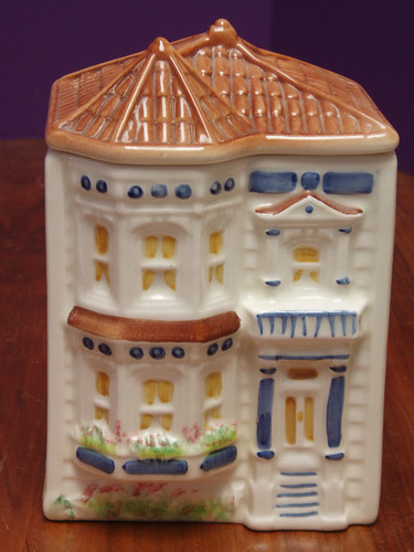 Avon Medium Townhouse Cookie Jar