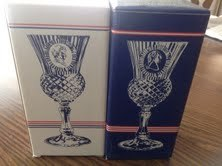 Avon Fostoria George and Martha Washington Box