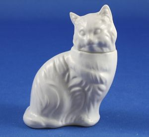 Avon White Persian Cat Bottle