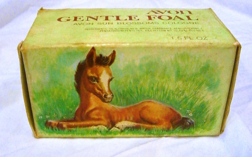 Avon Gentle Foal Box