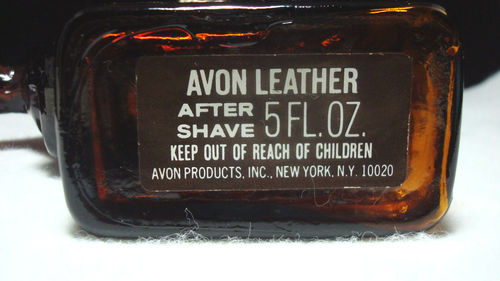 Avon Horse Racing Bottle Label