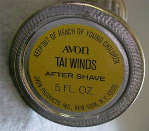 Avon Tai Winds After Shave Bottle