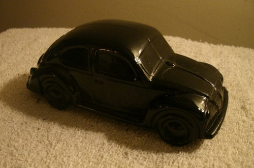 Black Volkswagen VW Bug Bottle