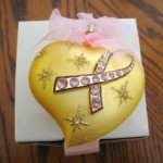 Avon Christmas Ornament 2004 Breast Cancer