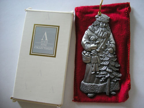 Avon Father Christmas Ornament