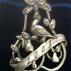 Avon Pewter Christmas Ornament - 2001