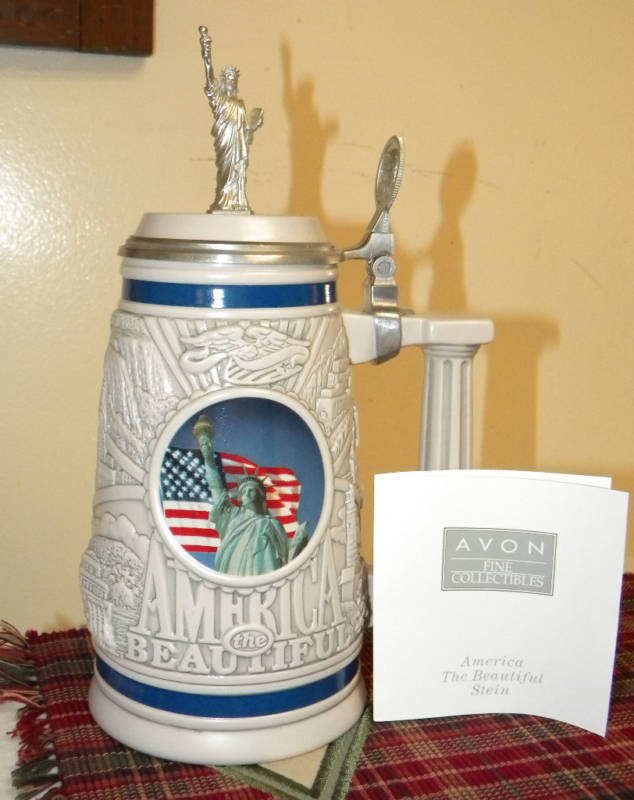 Avon Stein America the Beautiful - 2002