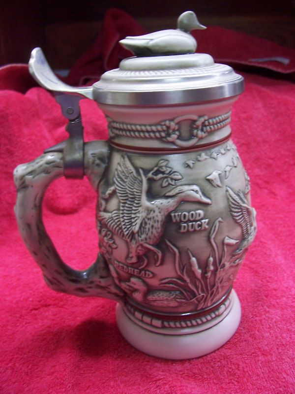 1988 Avon Ducks of the American Wilderness Stein