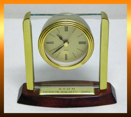 2002 Avon Honor Society Clock