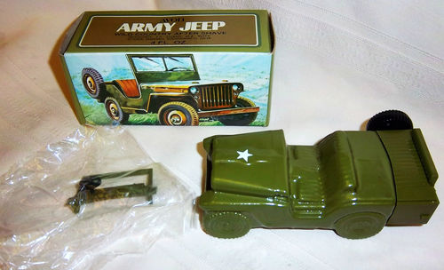 Avon Army Jeep Bottle