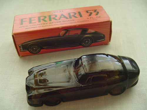 Avon 1953 Ferrari Bottle