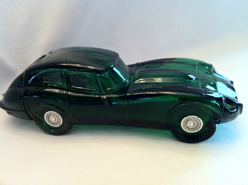 Avon Green Jaguar Car