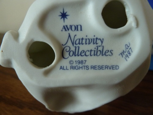 Avon Nativity Angel Bottom