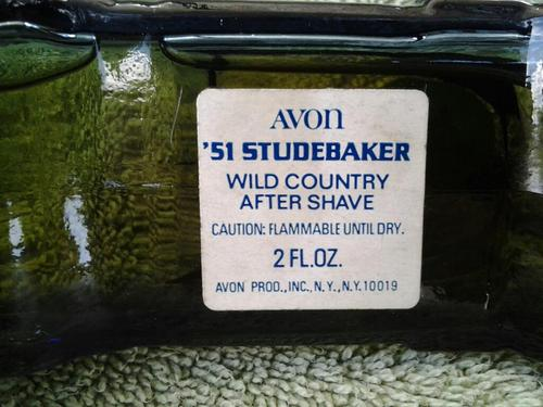 Bottom of 1951 Avon Studebaker