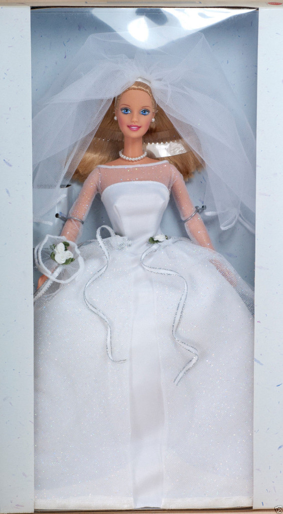 barbie blushing bride