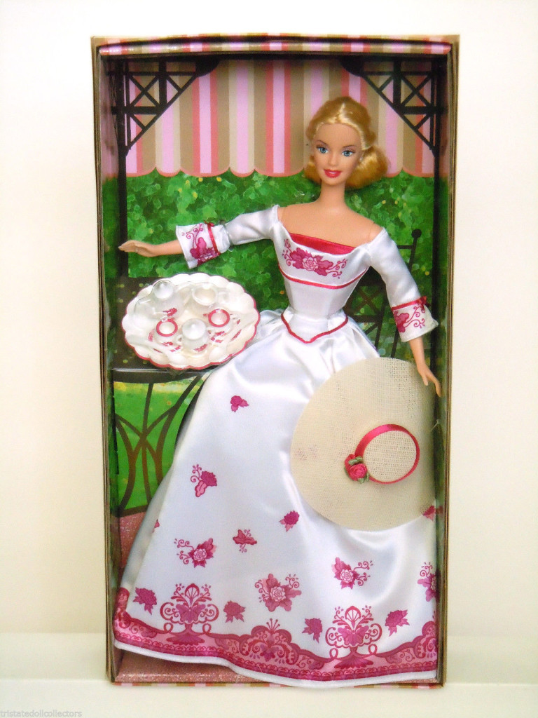 barbie victorian tea