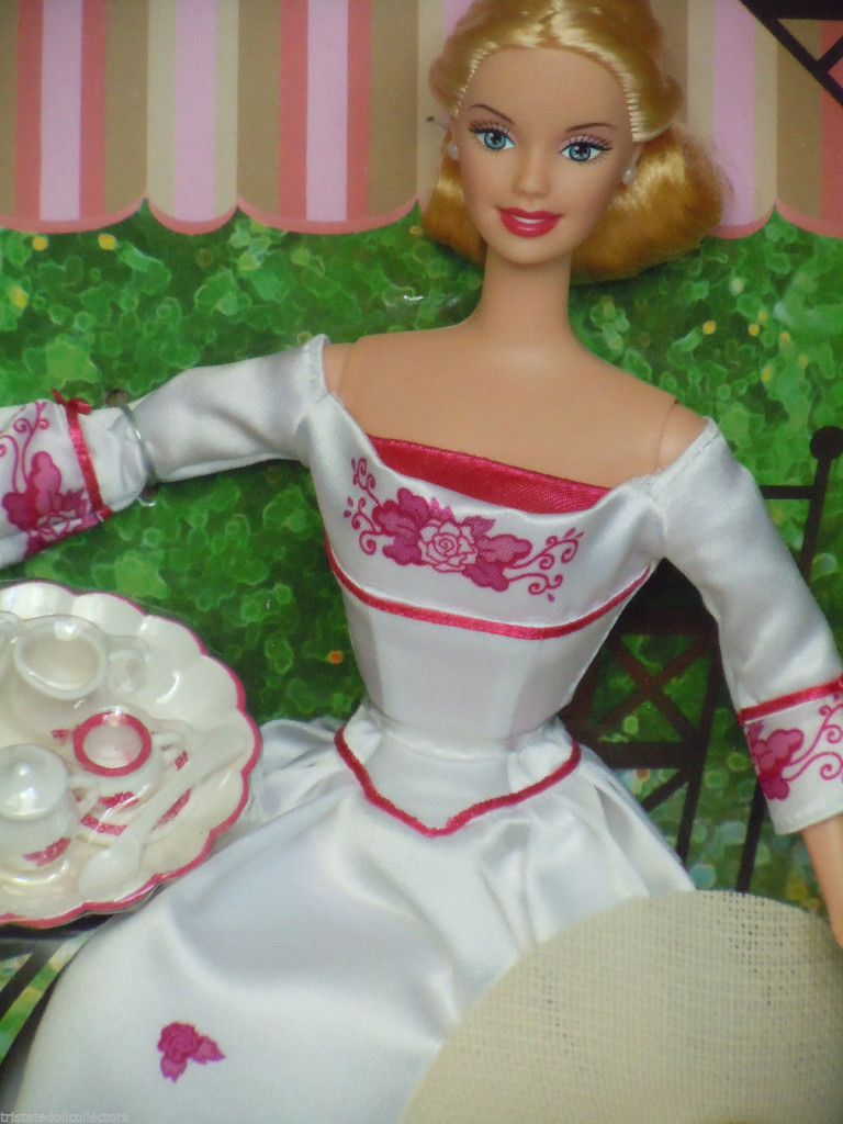 barbie victorian teacloseup
