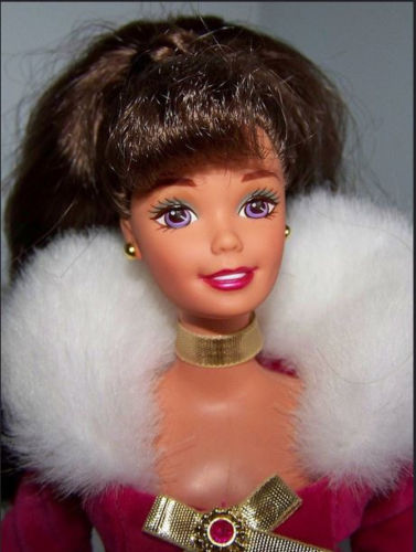 barbie winter rhapsody closeup