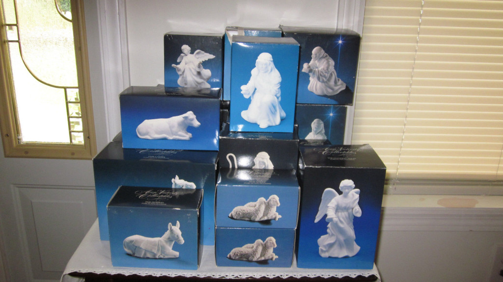 avon nativity set