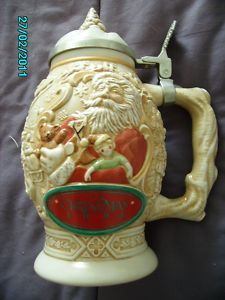 Avon Father Christmas Stein - 1994