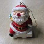 Avon Ornament Light Up Musical Santa