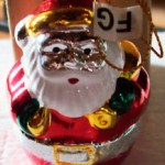Avon Santa Ornament - 1998