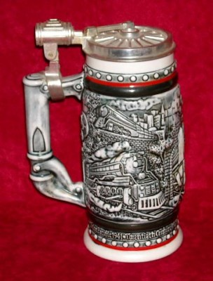 Avon 1982 Railroad Engines Stein