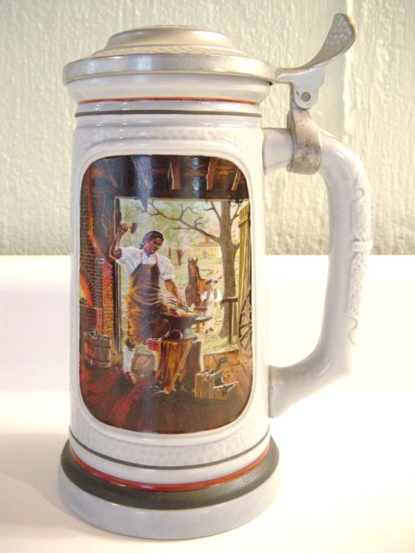 Avon 1985 Blacksmith Stein