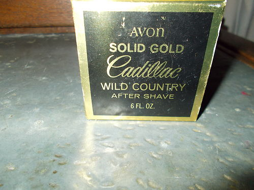 Avon Box for Solid Gold Cadillac